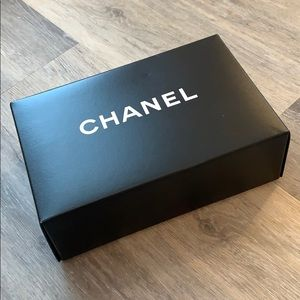 Chanel box with extras